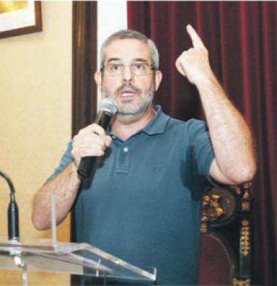Serafim Duarte, Deputado na Assembleia Municipal de Coimbra. Fonte: Luis Carregã, Diário as Beiras